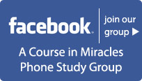 Join Our Group on Facebook - A Course in Miracles Study Group