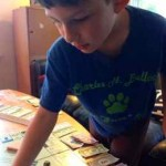 My nephew, Mikey, and I love Monopoly!