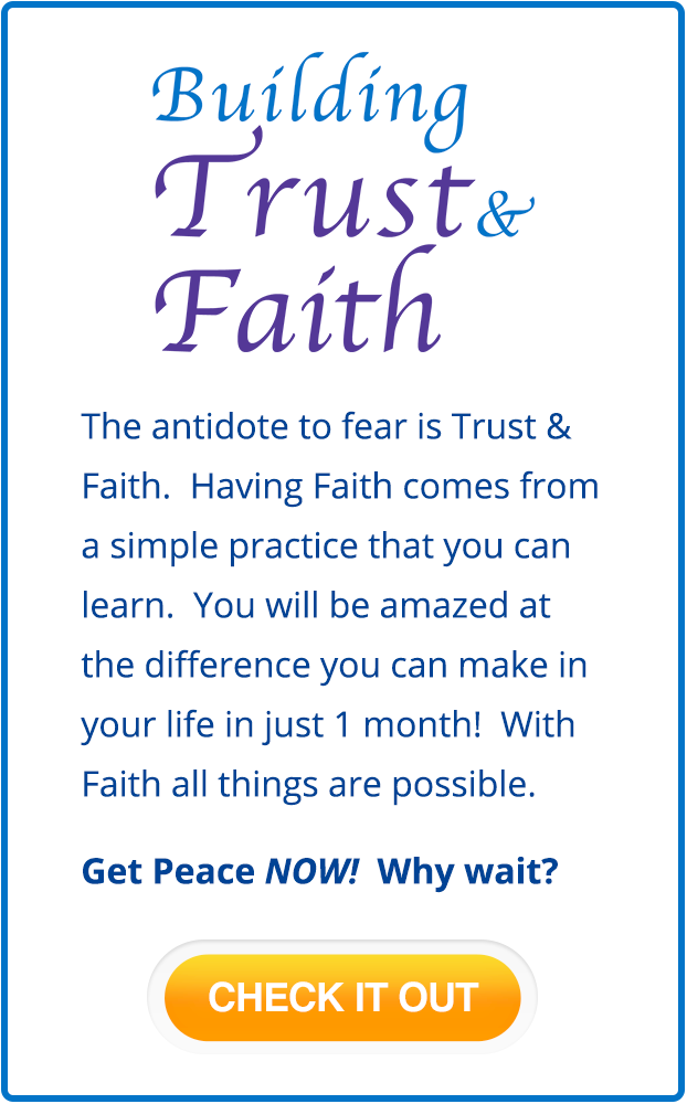 Building Trust & Faith