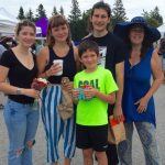 Enjoying Friday morning farmers market on Deer Isle with the family - summer fun IS prosperity!