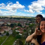 Loving the views from the tower on Salisbury Cathedral!