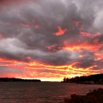 Deer Isle sunsets are AMAZING - there was a fire in the sky the other night.  WOW!