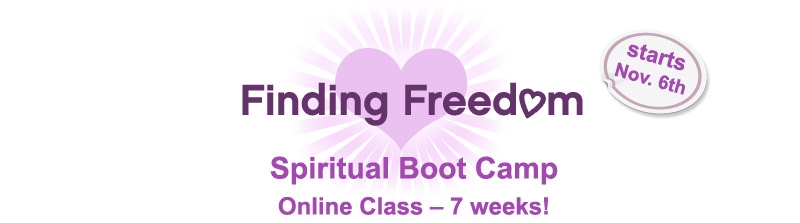 Finding Freedom Spiritual Boot Camp starts Nov. 6